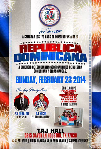 Alianza de Organizaciones Dominicanas en Texas (AODET) Celebrates The Dominican Republic's 170th Anniversary of Independence