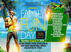 Jamaica Foundation of Houston Family Picnic in the Park