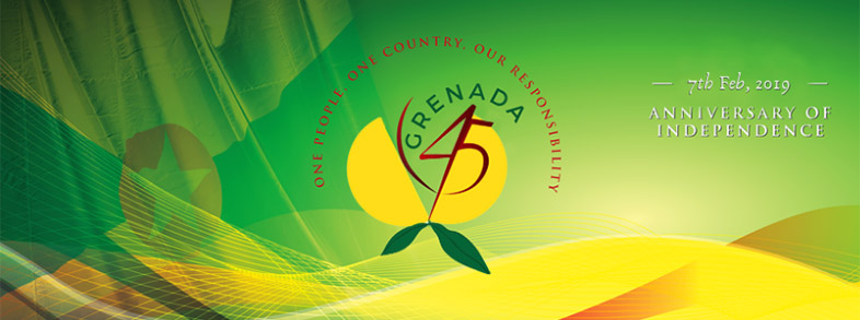 Grenada Celebrate 45th Anniversary of Independence, February 7, 2019